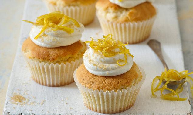Cupcakes s citrónovým krémem