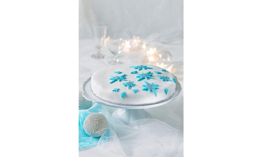 Nebeský vánoční dort