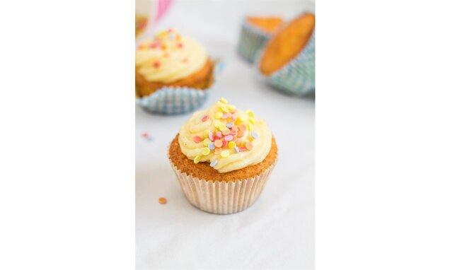 Cupcakes s vanilkovým krémem