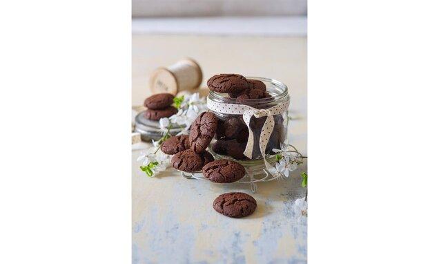 Kakaové cookies s přírodním kakaem