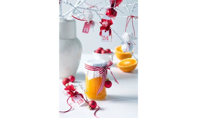 Vánoční pomerančová marmeláda