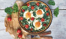 spenatovy quiche